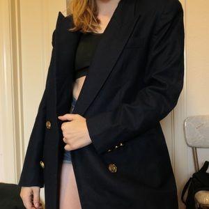 Vintage 80s Wool blazer